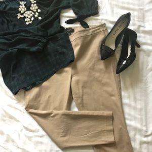 Talbots Chatham Ankle Pant Side Zip